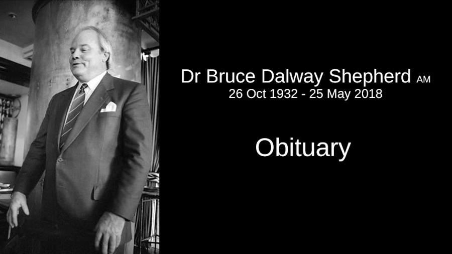 Dr Bruce Shepherd's Obituary