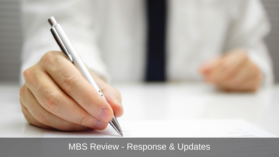 Submission Re Proposed Changes To Surgical Assistants' Fees And Billing