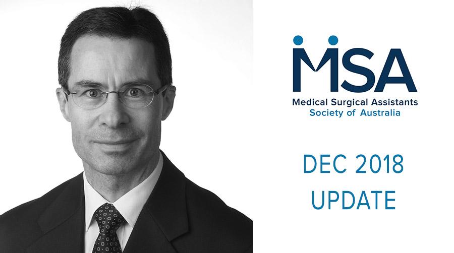 December 2018 Update to Members