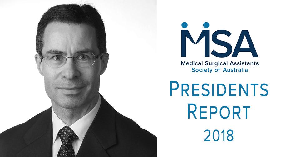 MSASA President's Report 2018