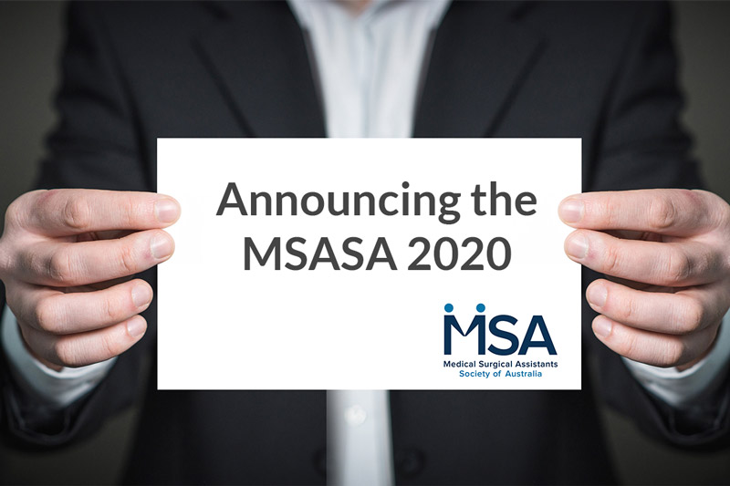 Announcing the MSASA 2020 Conference