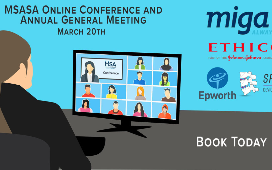 MSASA Online Conference 2021 Program